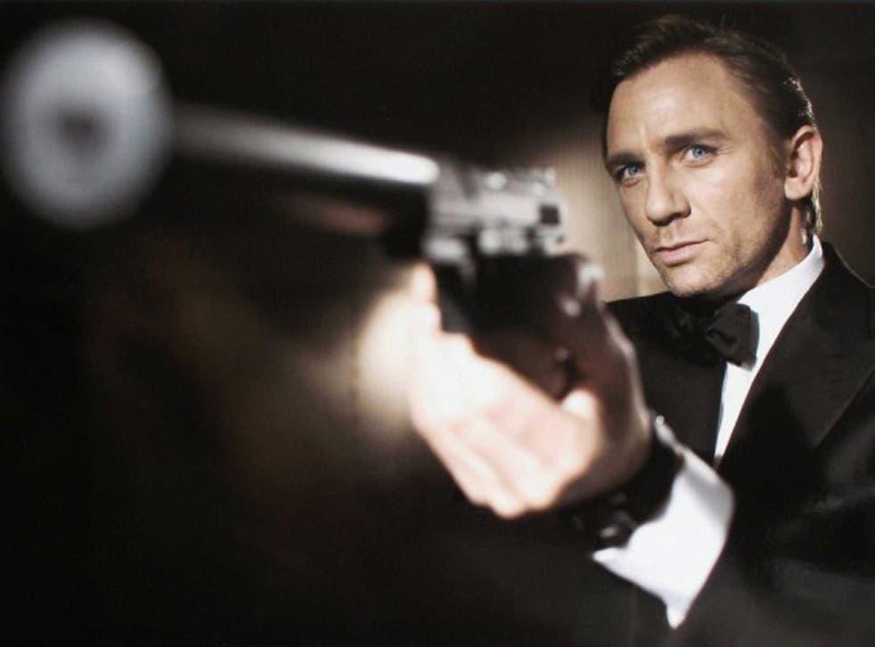 Daniel Craig in a 'Casino Royale' promotional still
