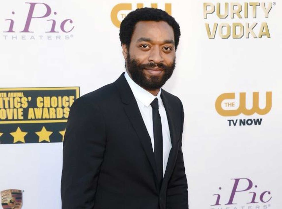 Chiwetel Ejiofor, whose favourite films suggest what he looks for in a good baddy