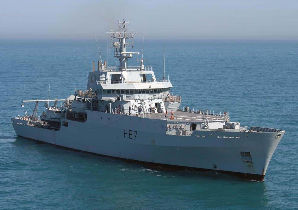 Missing Flight Mh370 Royal Navys Hms Echo Joins Race To Verify