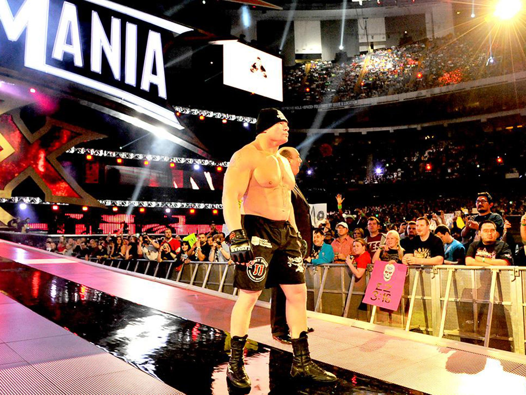 WWE Comment Brock Lesnar Was The Right Man To End Undertakers WrestleMania Streaknow Hes Guy Beat
