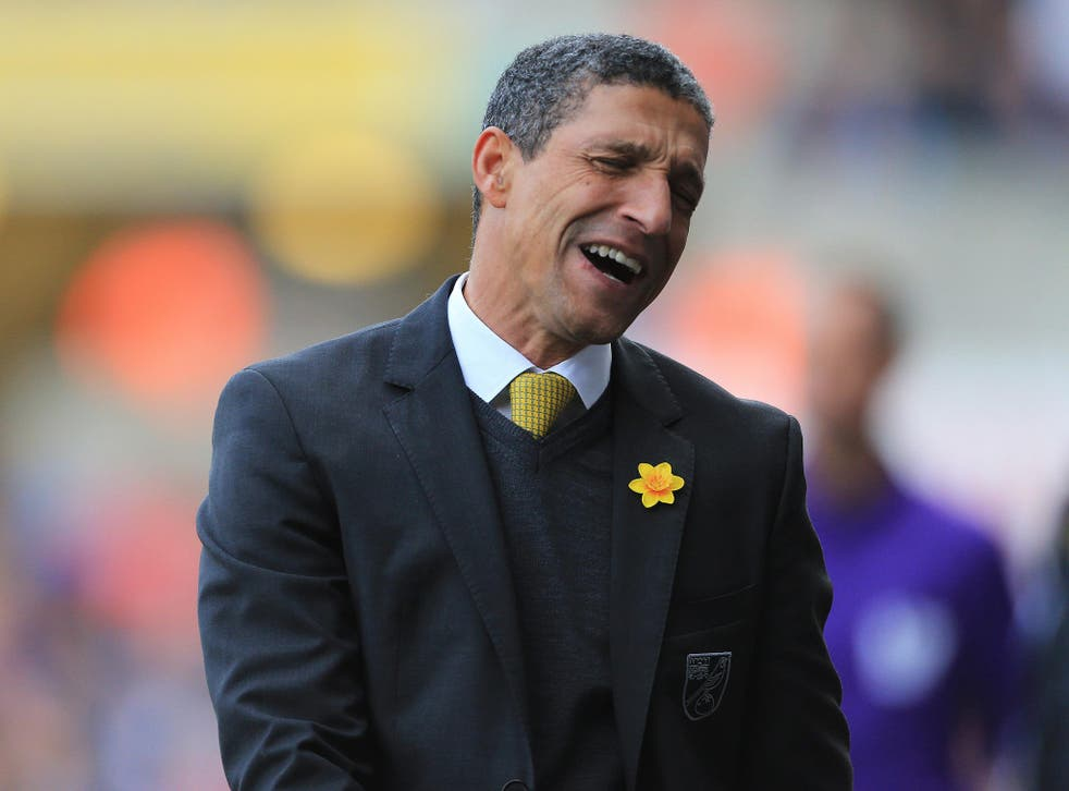A year ago there were five black managers in the top five divisions. After Chris Hughton's sacking there are none
