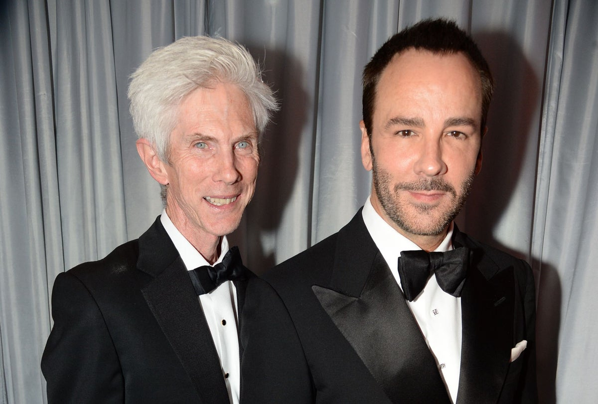 Tom Ford and Richard Buckley married: Fashion designer reveals he recently wed his partner of 27 years on trip to the Apple Store   The Independent   The Independent