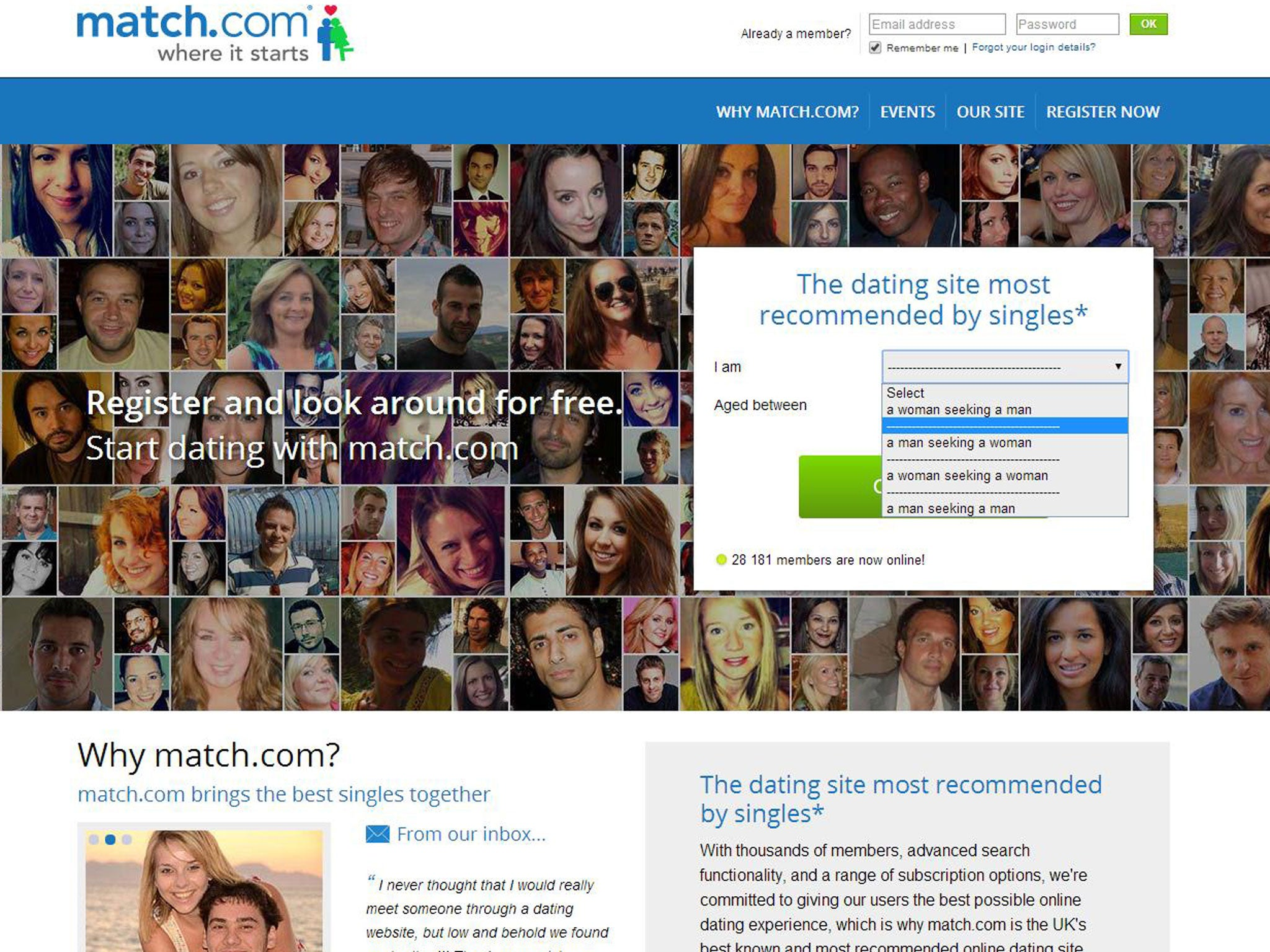 Who Do I Recommend Match.com or eHarmony