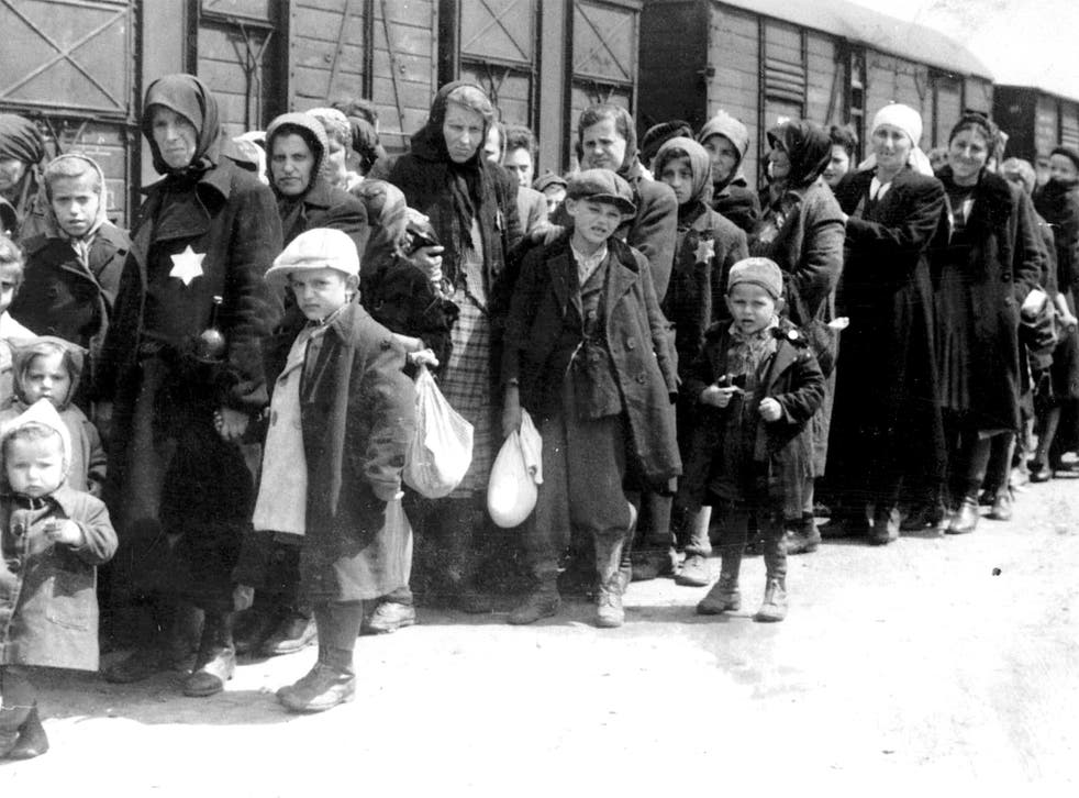 Jews from all over Europe were brought by train to the death camp at Auschwitz in Poland
