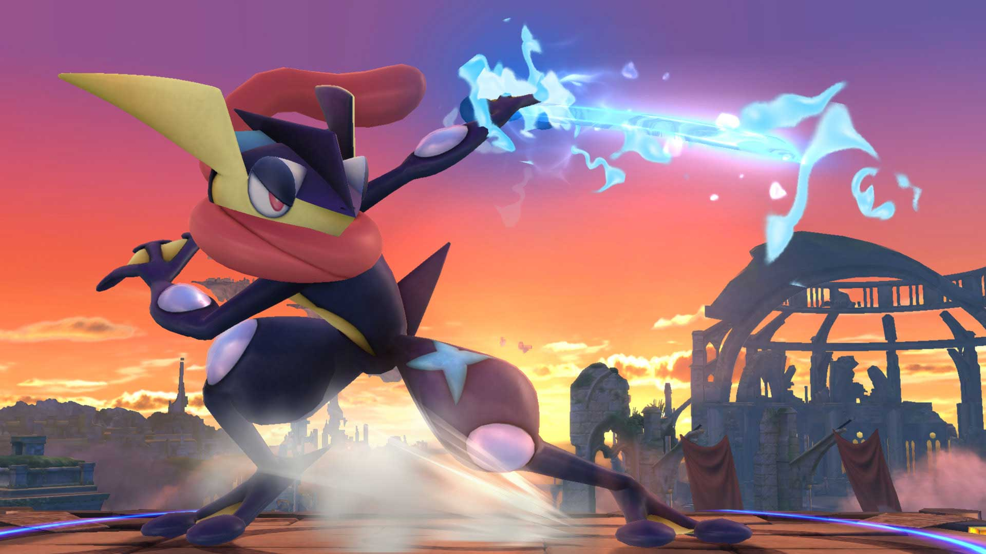 Greninja and Charizard added to Super Smash Bros roster