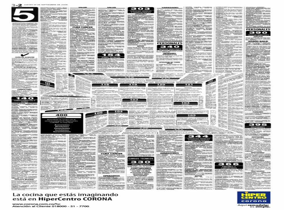 Advert was made out of fake classifieds