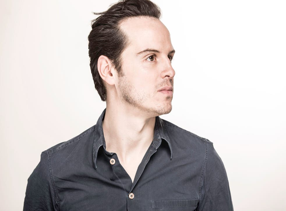 Andrew Scott, who performs in Birdland at the Royal Court theatre