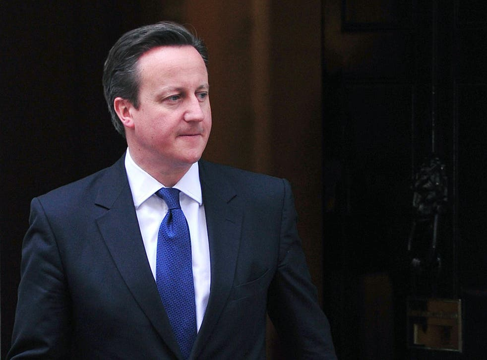 David Cameron has invoked divine backing for the Big Society