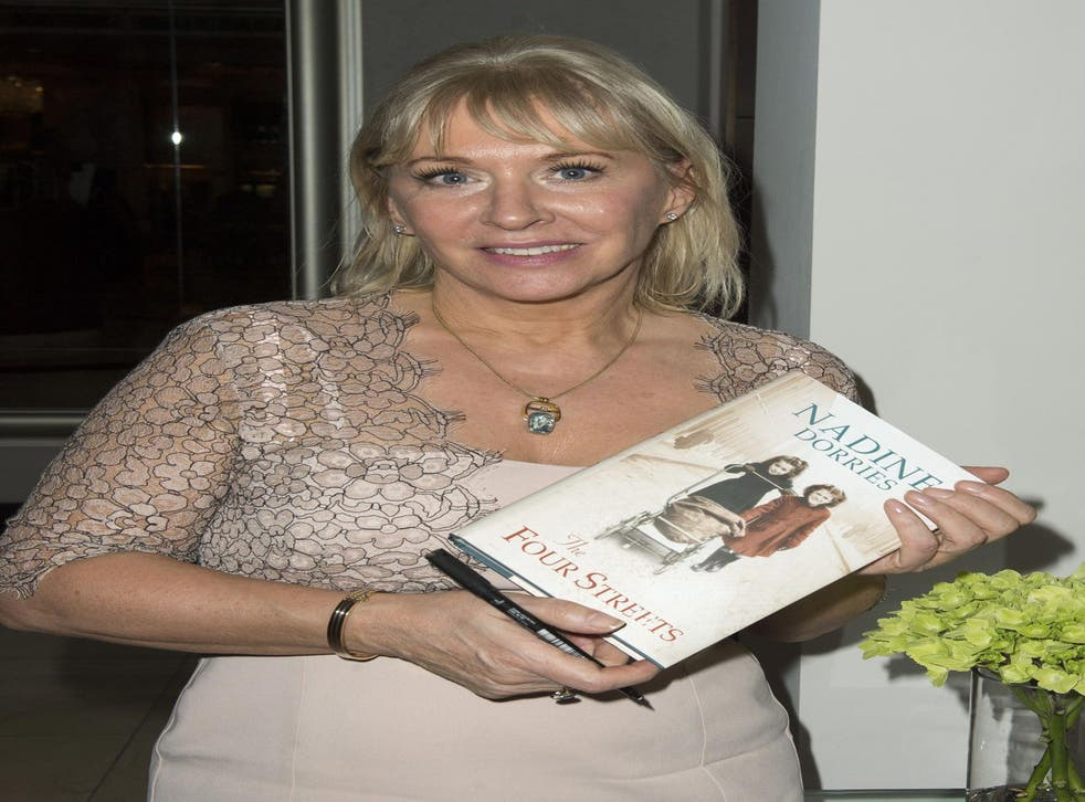 Author of her own misfortune? Nadine Dorries with her new novel