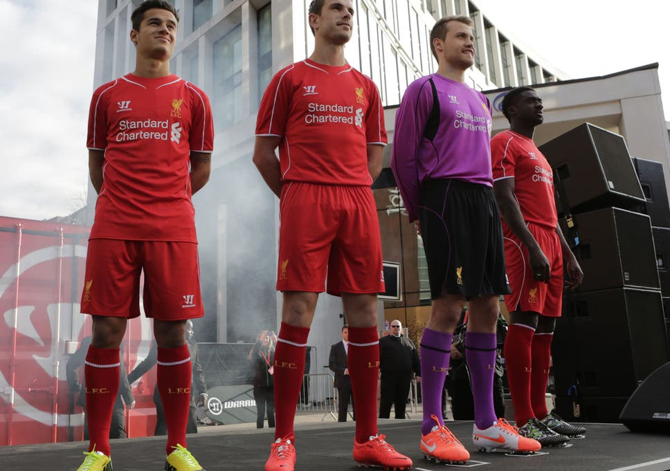 988909c19 New Liverpool kit unveiled  Will they be wearing this 2014 15 shirt ...