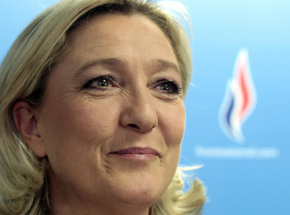 Marine Le Pen, the National Front leader, claims to have cleaned up the far-right party since taking over