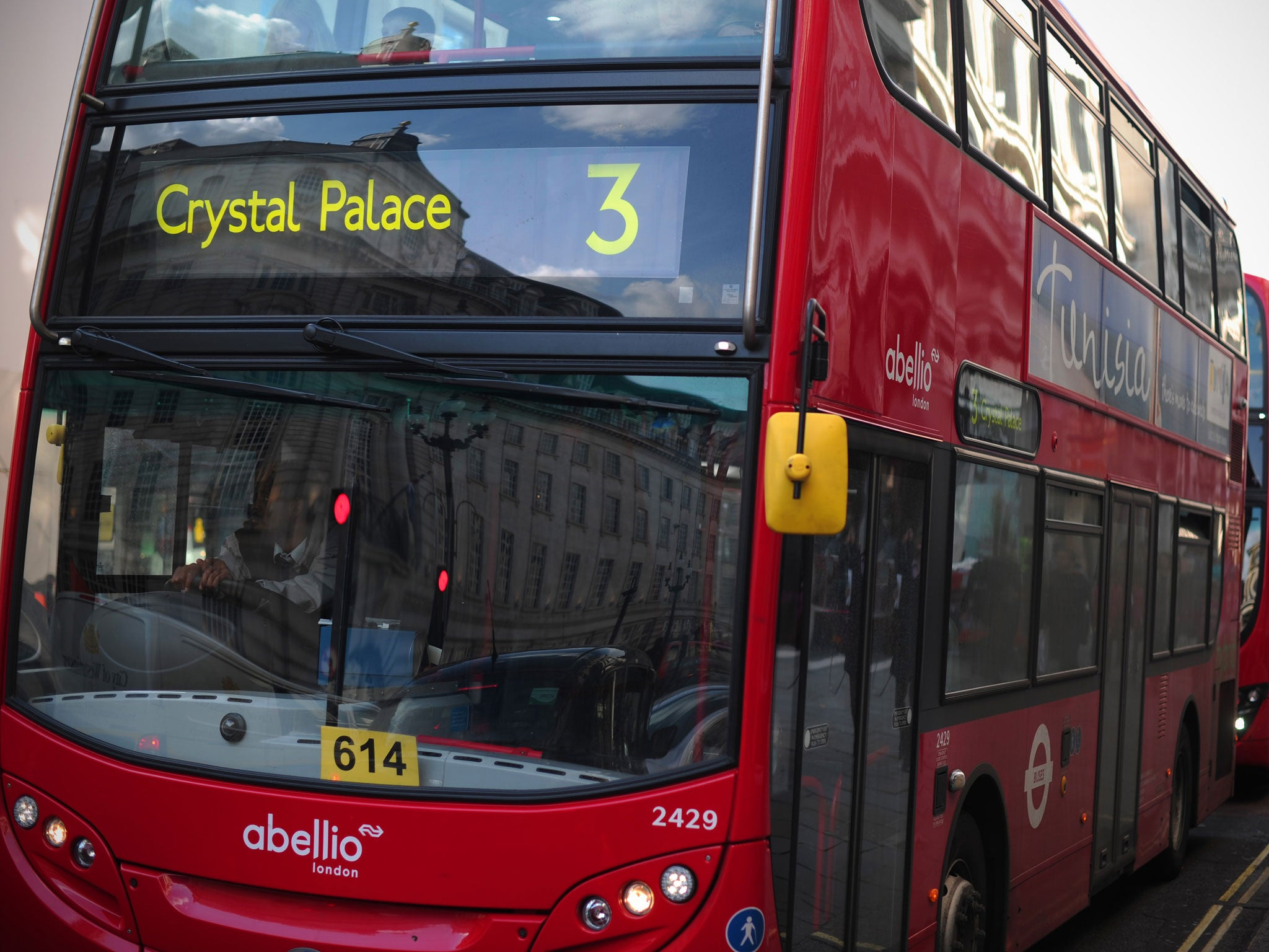 Jewish man punched after trying to help teenage girls being abused on London bus