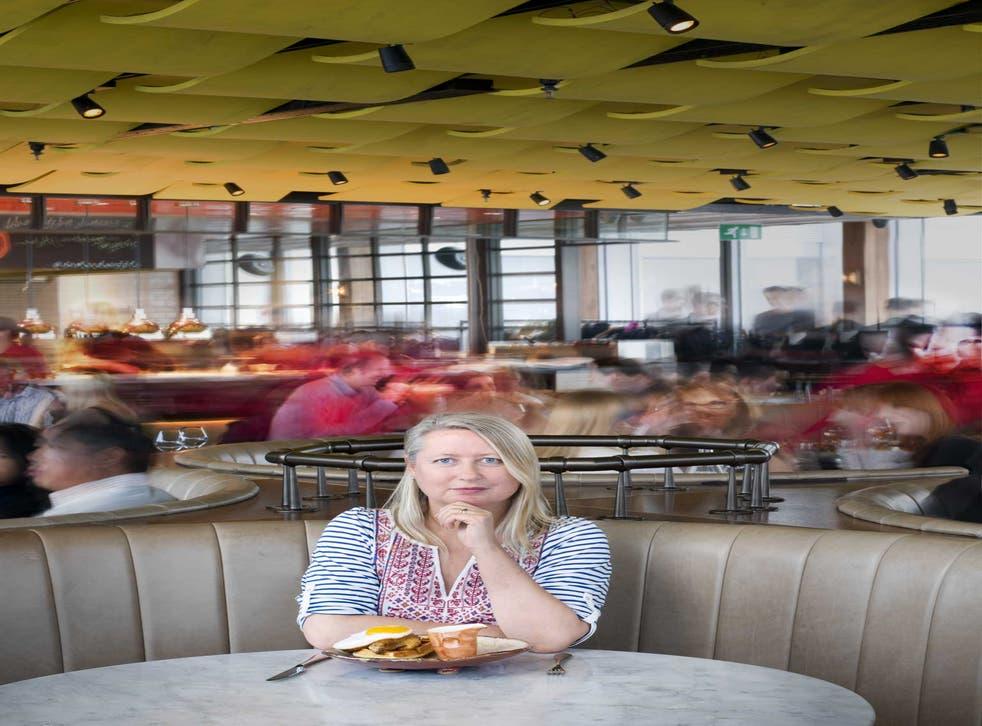 Marathon sitting: Lisa Markwell at the Duck & Waffle
