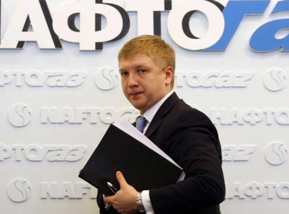 Andriy Kobolev, Naftogaz boss, said price rises were 'unacceptable'