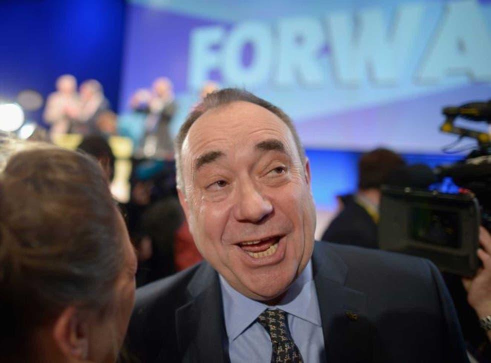 Salmond: 'Daleks are unhappy'