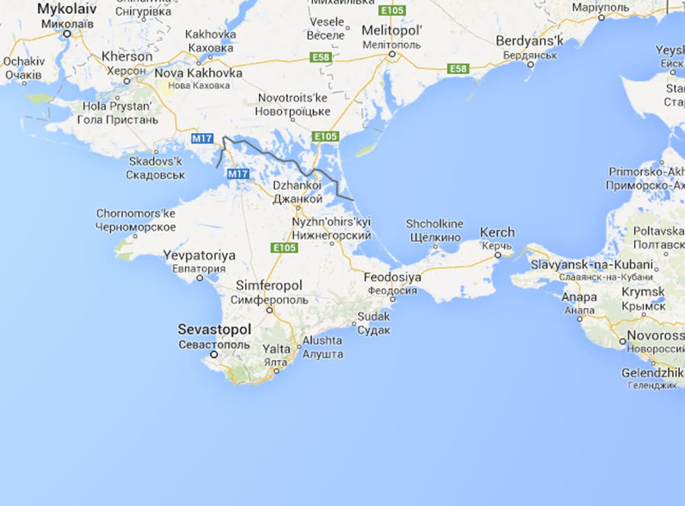 Crimea now appears as part of Russia on Google Maps - for Russian users at least - with a solid border between it and Ukraine