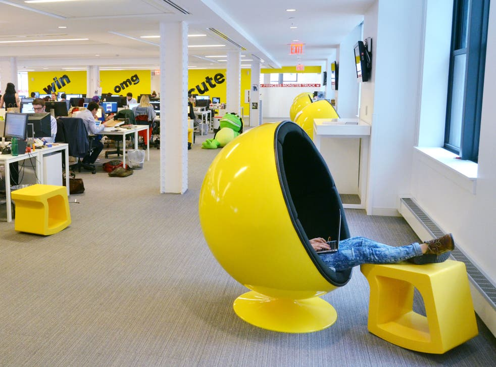 The growing reputation of BuzzFeed's reporting teams, with the New York office pictured, has helped it to hire top investigative talent