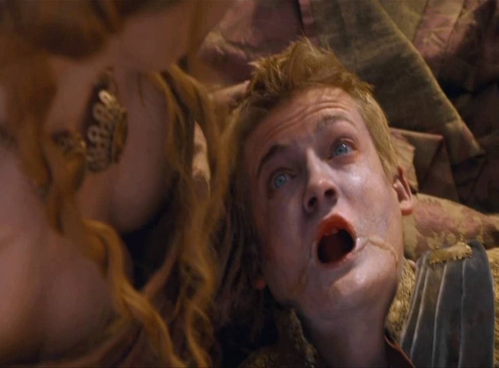 Millions tuned in or download king Joffrey's demise