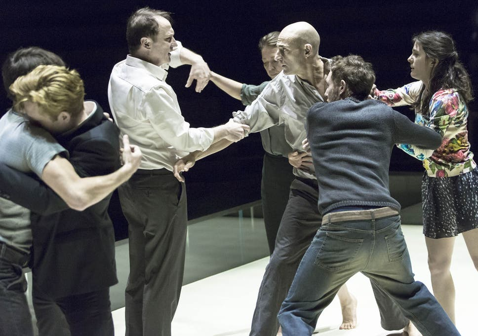 A Scene From View The Bridge At Young Vic