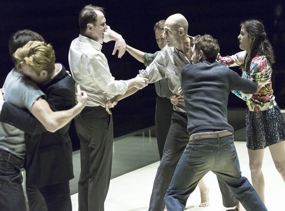 A scene from 'A View from the Bridge' at the Young Vic