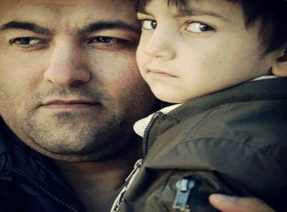 Father-of-two Ghader Ghalamere has been the subject of a major campaign in Sweden to prevent his deportation