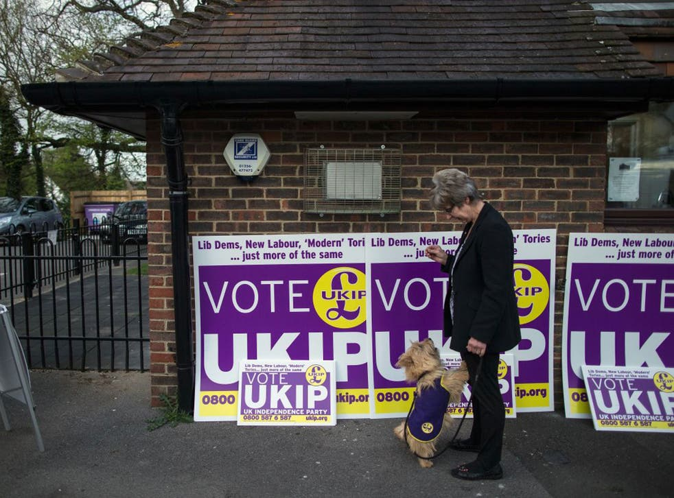 "The ComRes poll found 51 per cent of voters did not believe Nigel Farage's party offered a ""realistic political vision"""