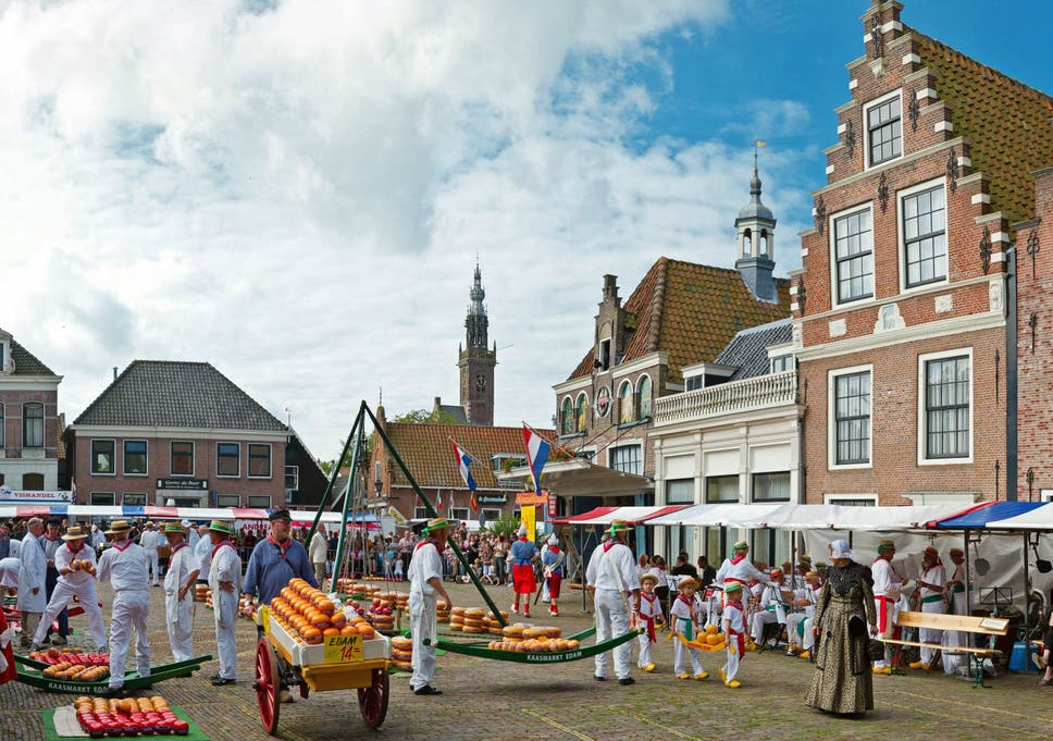 Say cheese the town of Edam Follow