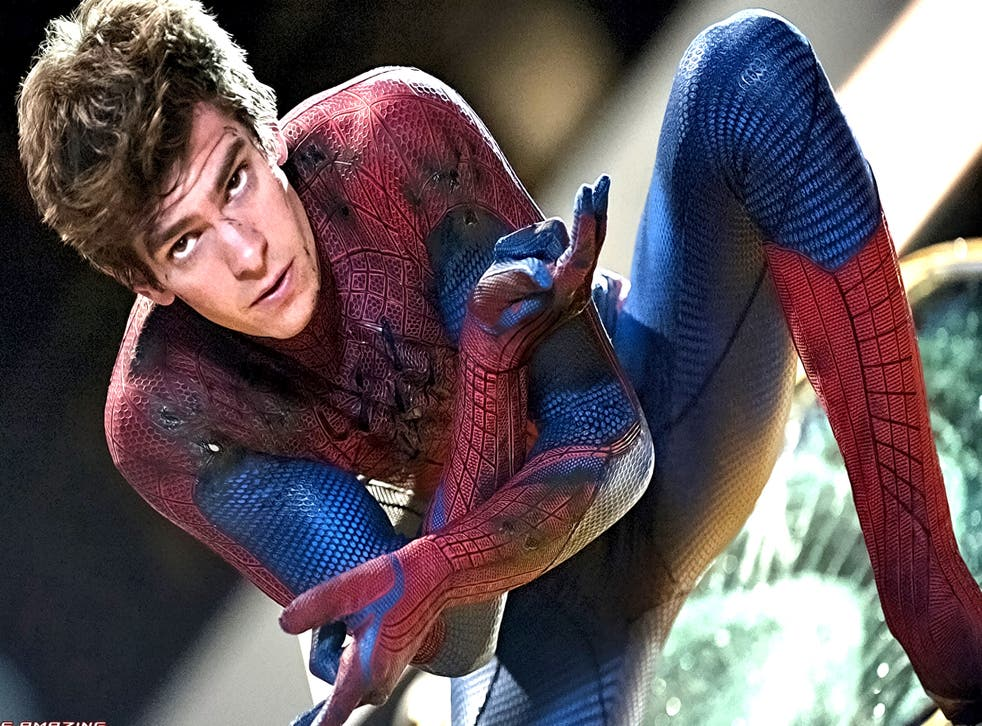 Andrew Garfield as Spider-Man. The actor's father is Jewish