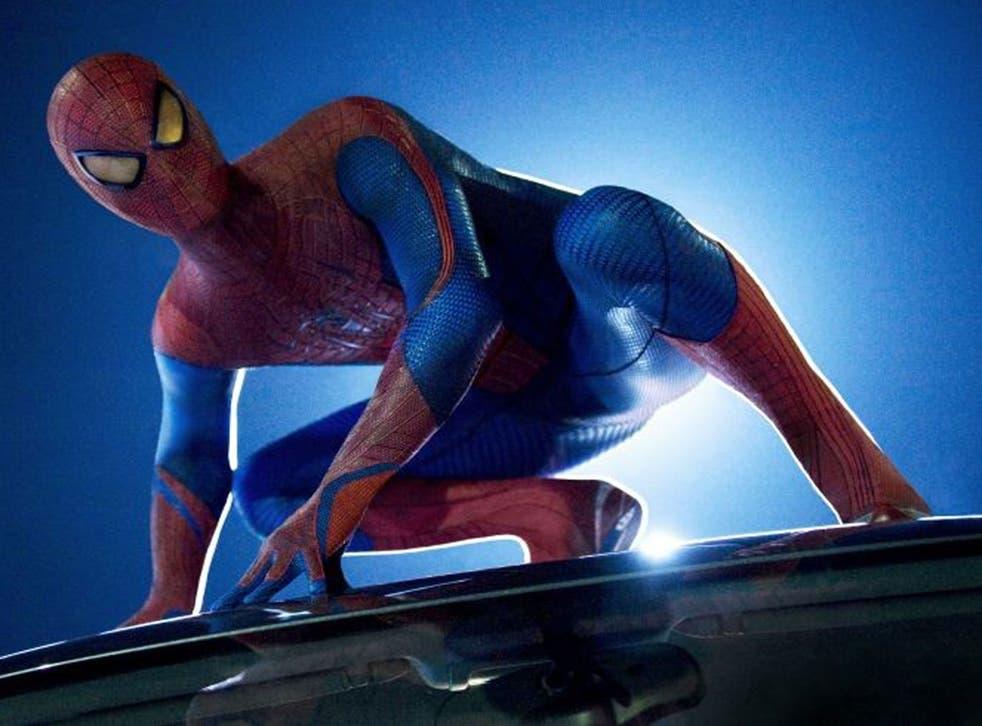Spider-Man, superheroic web-slinger
