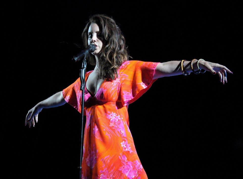 Lana Del Rey is busy working on the follow-up to 2015's Honeymoon