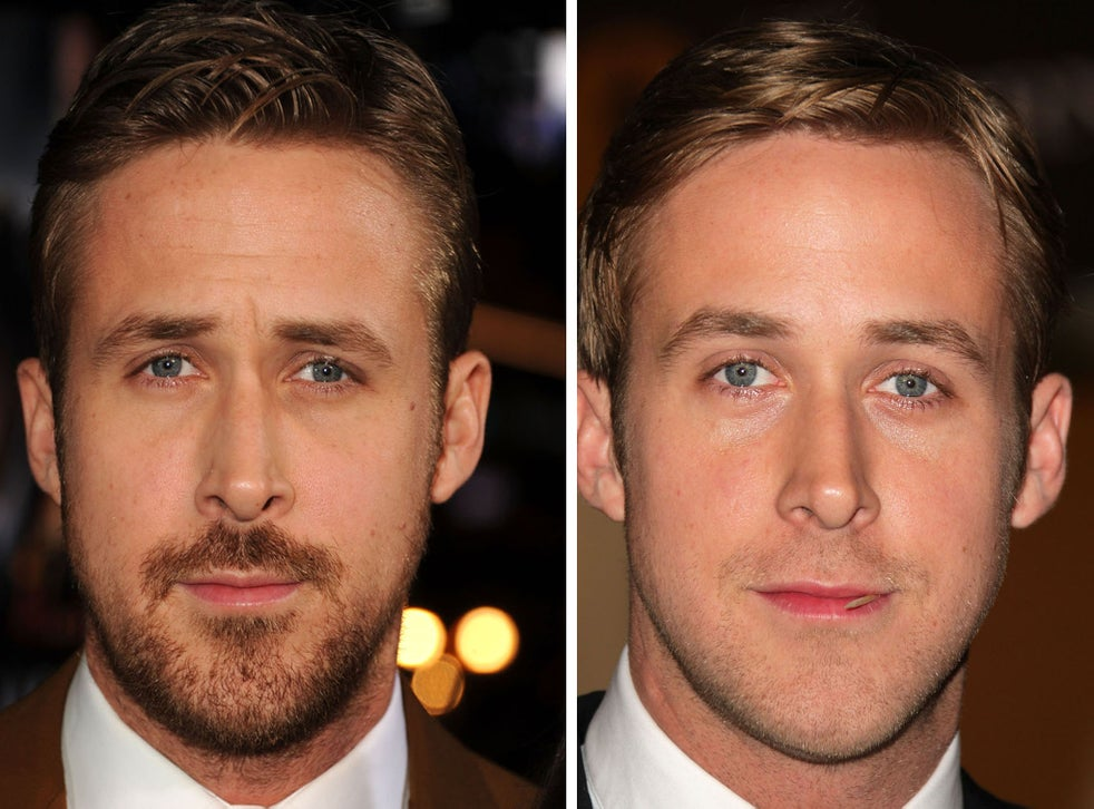 Are Beards Attractive Ryan Gosling Says Yes But Science Says No Take The A List Facial Hair Challenge And Find Out Who S Right The Independent The Independent
