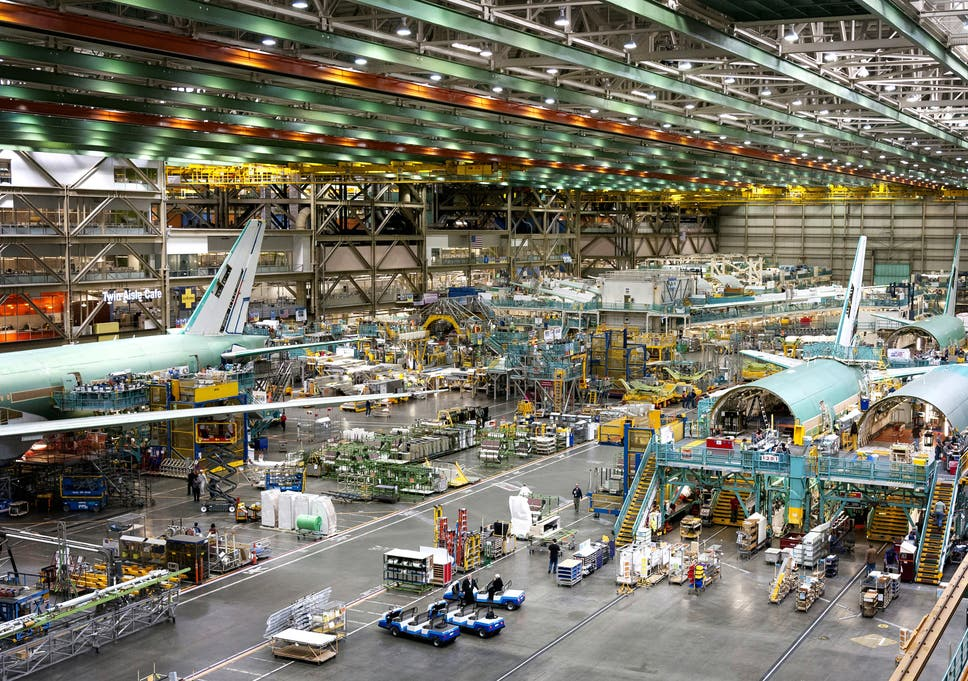 Dreaming big in Boeing's jumbo factory | The Independent