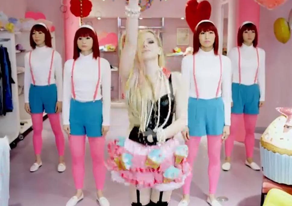 859779674 Avril Lavigne's 'Hello Kitty' and the stereotypes of Japanese women ...