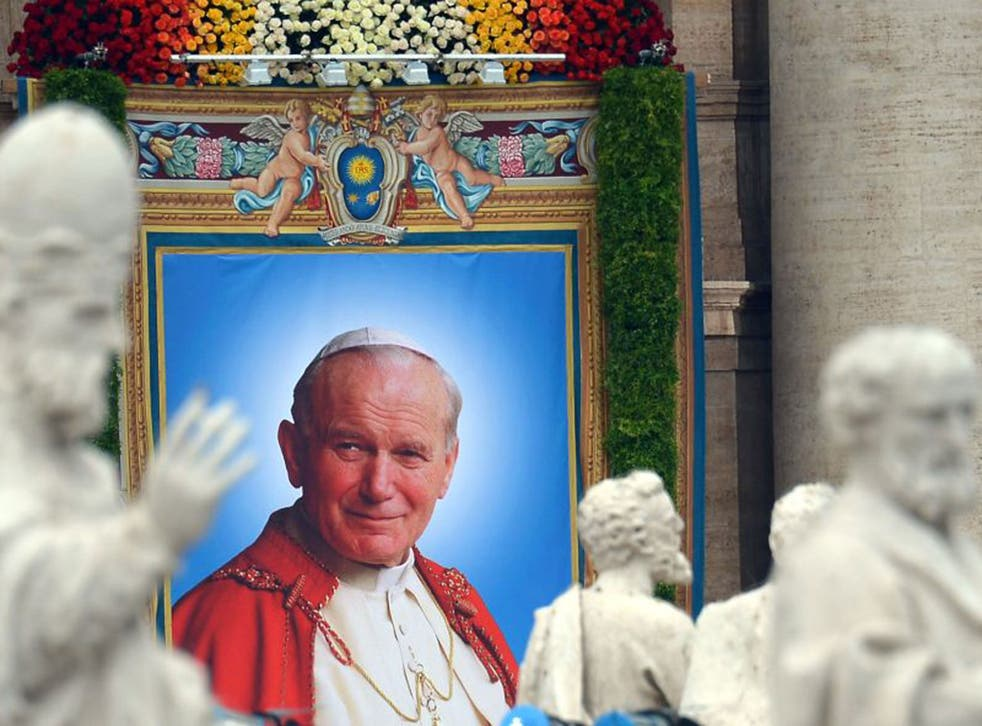 Canonised: Pope John Paul II