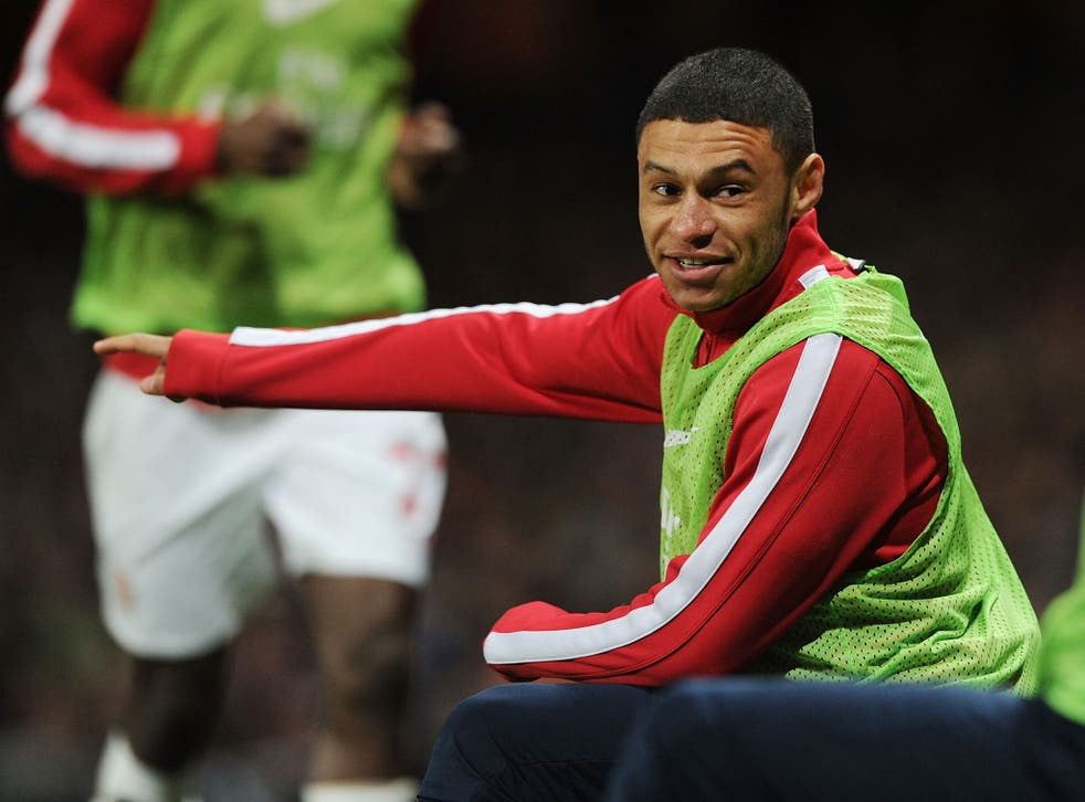 Alex Oxlade-Chamberlain could miss the FA Cup final with a groin problem