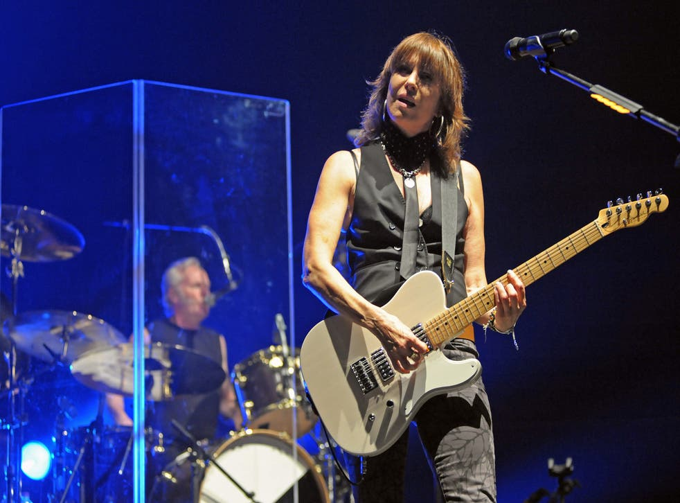 Chrissie Hynde of the Pretenders joins the Latitude 2014 line-up