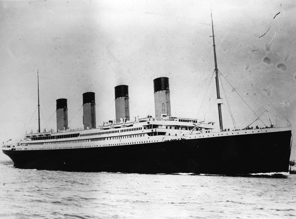 The Titanic, which sank during her maiden voyage in 1912