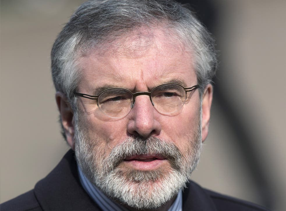 Gerry Adams, President of Sinn Féin