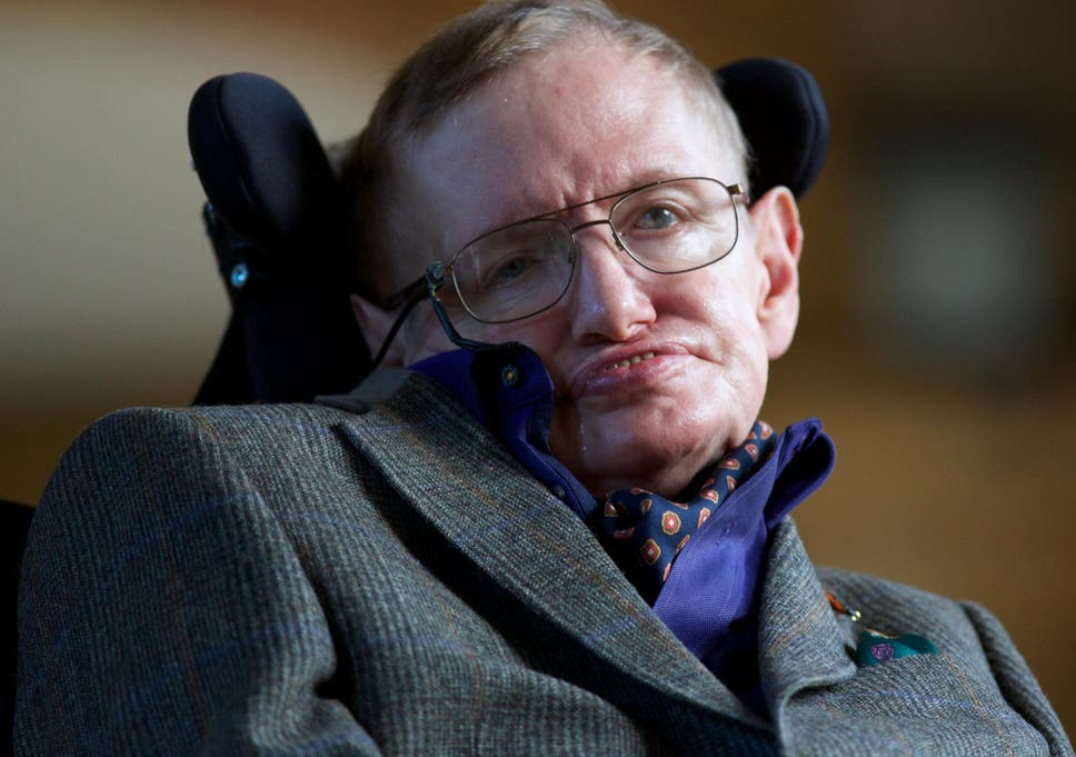 Stephen Hawking: 'Transcendence looks at the implications of