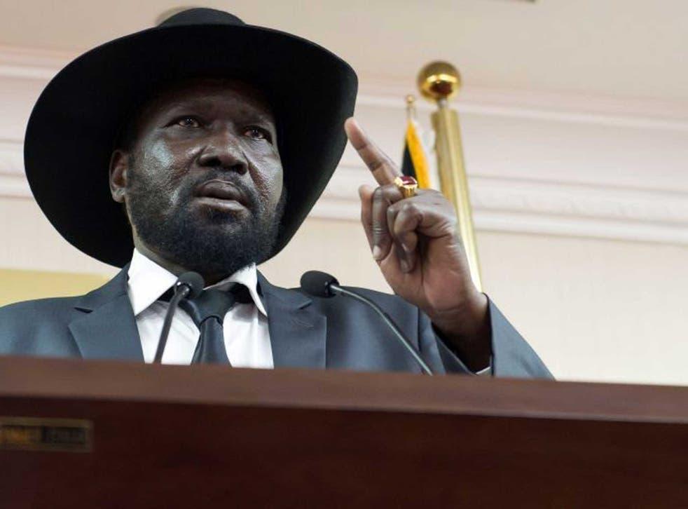 Salva Kiir: Has agreed to talks