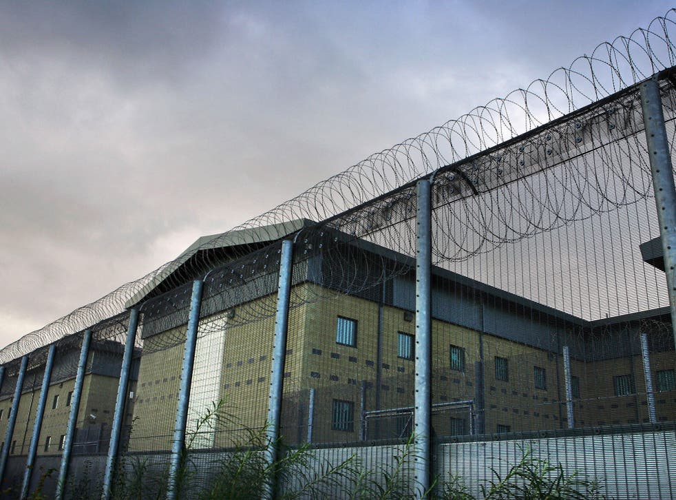 The Home Office detention centre at Harmondsworth holds 615 people