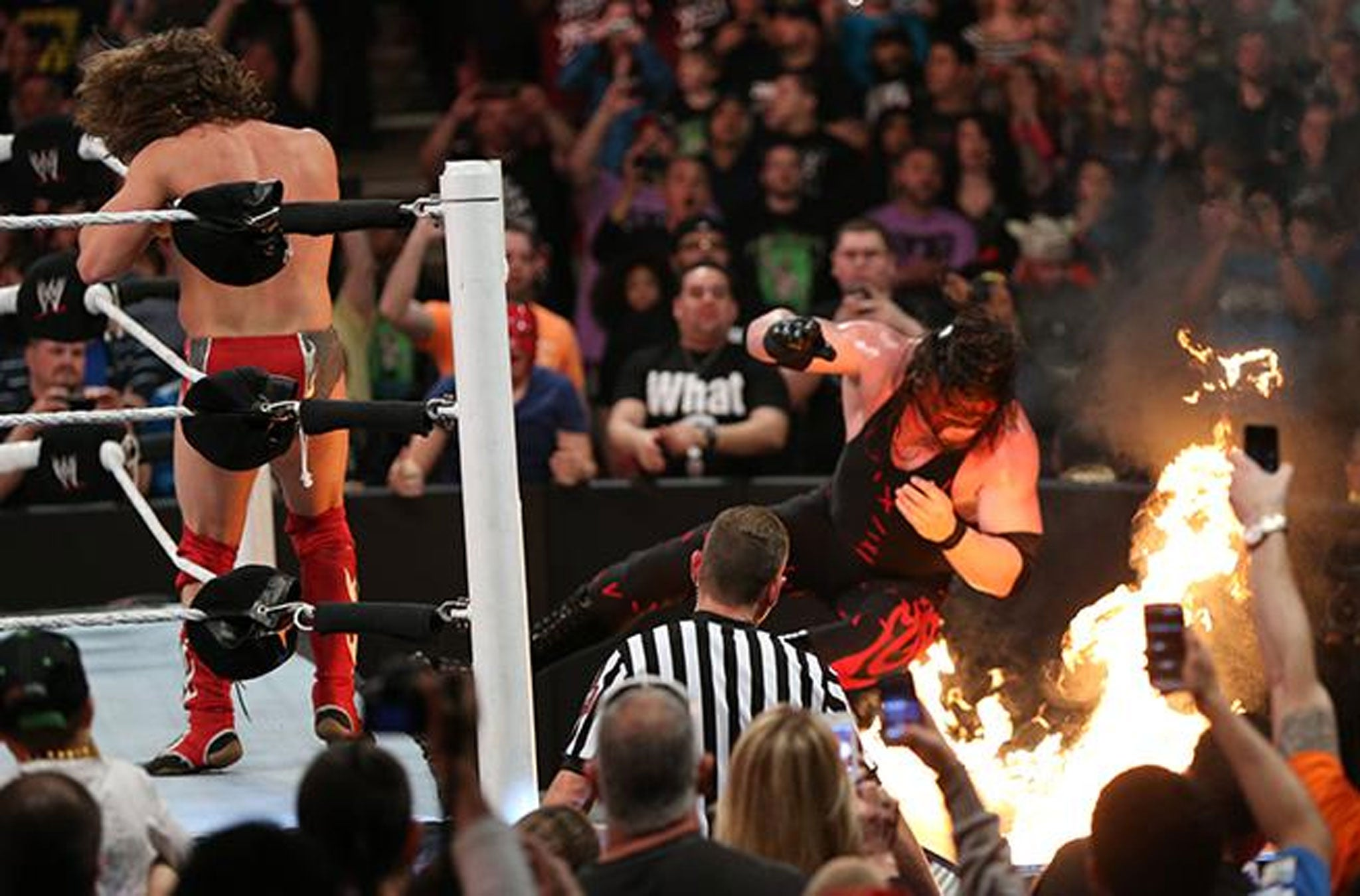 Wwe extreme rules seven things we learnt including shield vs evolution is an impossible act to follow the independent