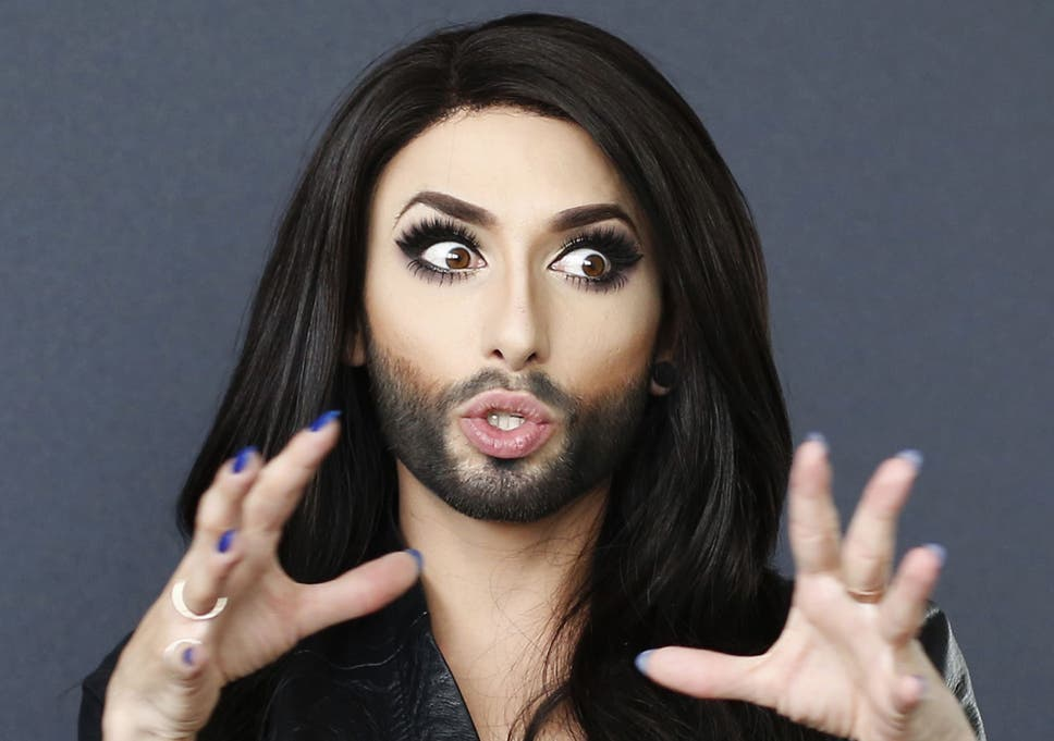 Winner Austrian Drag Act Conchita Wurst Has Been Crowned Of This Year S Eurovision Song