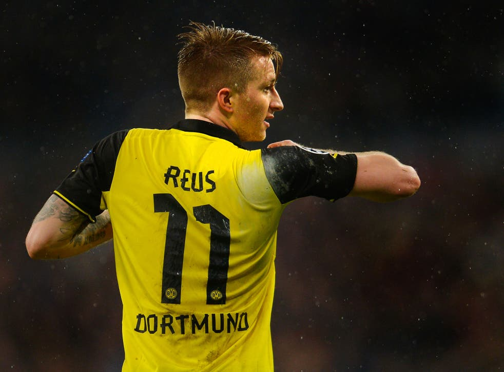 Marco Reus is reportedly a target of Manchester United