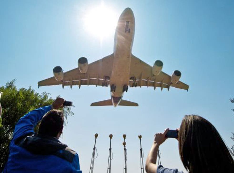 Blue sky thinking: the A380 is economical