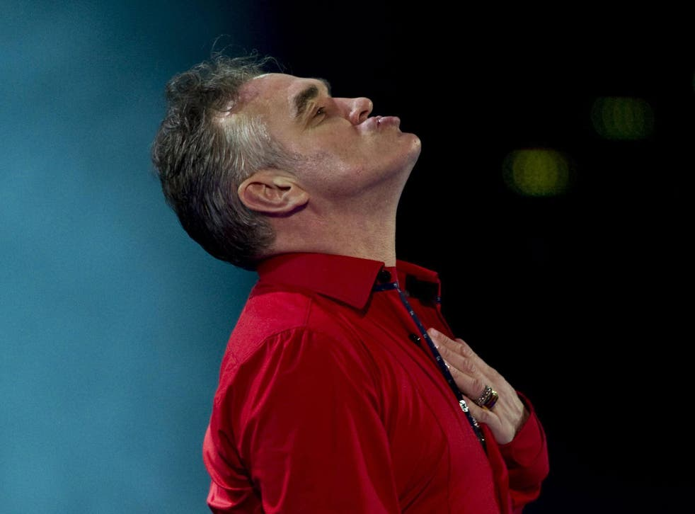 Morrissey refuses to perform in venues that do not go meat-free while he is on stage