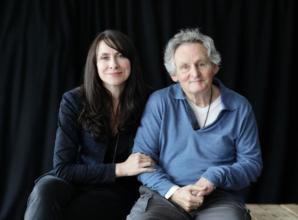 Playwright Stella Feehily and director Max Stafford-Clark. She was warned that becoming his carer would destroy their relationship: it didn't