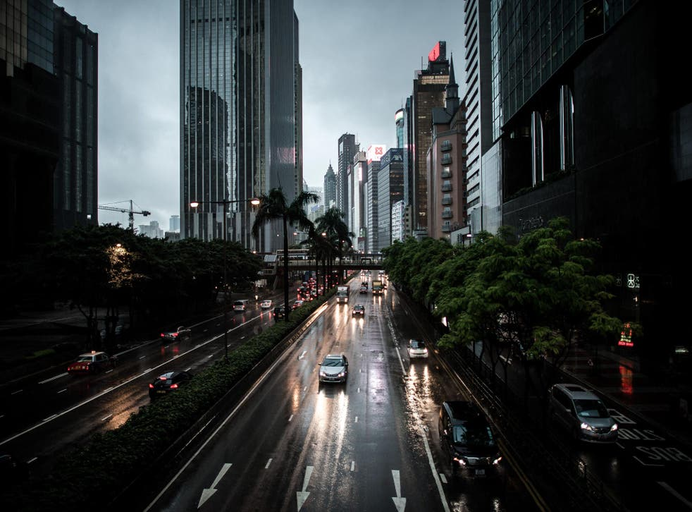"""Storm pummels Hong Kong as the UN weather agency warns there was a good chance of the """"El Nino"""" climate phenomenon in the Pacific Ocean bringing droughts and heavy rainfall to the rest of the world"""