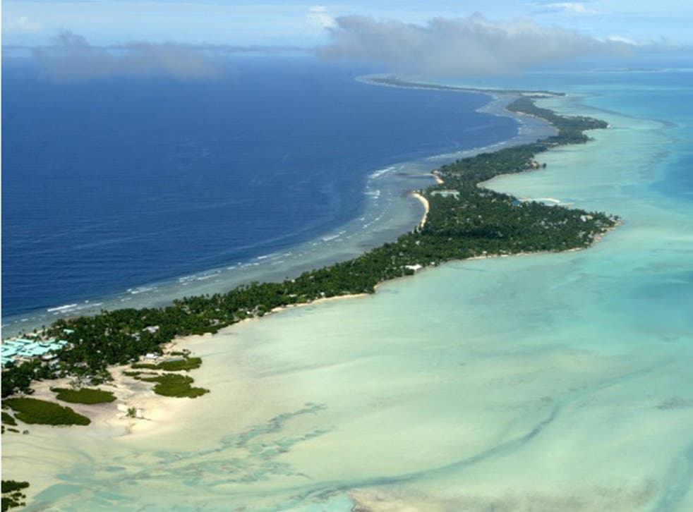 Kiribati is home to a population of 100,000
