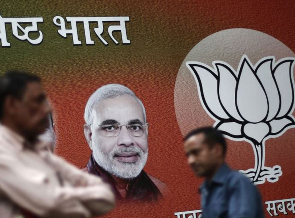 Mr Modi and his Bharatiya Janata Party are on track to surpass 272 seats once the National Democratic Alliance (NDA) coalition are included, enough for a majority